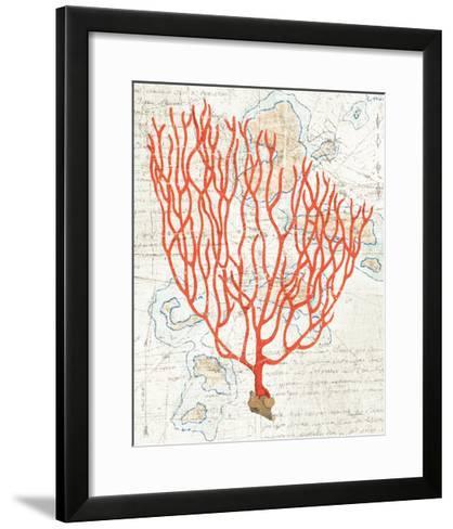 Textured Coral IV-Avery Tillmon-Framed Art Print