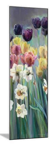 Grape Tulips Panel I-Marilyn Hageman-Mounted Art Print