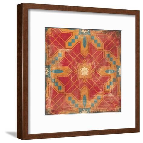 Moroccans Tile II v2-Cleonique Hilsaca-Framed Art Print