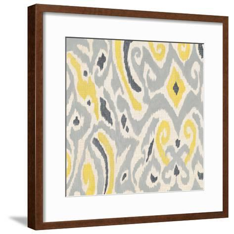 Exotic Textile 1-Tom Grijalva-Framed Art Print