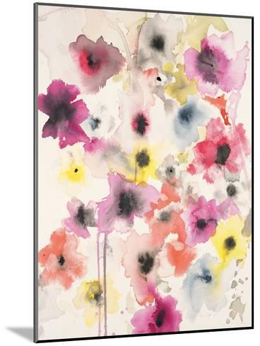 Candy Wrapped Blooms-Karin Johannesson-Mounted Premium Giclee Print