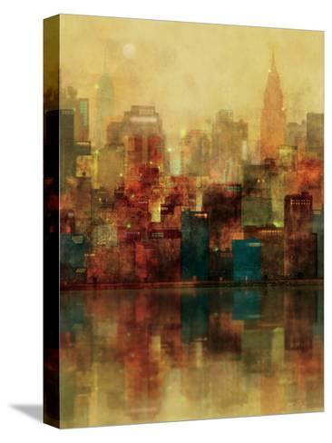 New York Sunshine-Ken Roko-Stretched Canvas Print