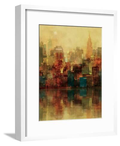 New York Sunshine-Ken Roko-Framed Art Print