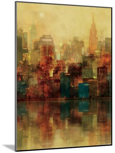 New York Sunshine-Ken Roko-Mounted Premium Giclee Print