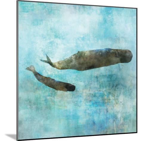 Ocean Whale 2-Ken Roko-Mounted Premium Giclee Print