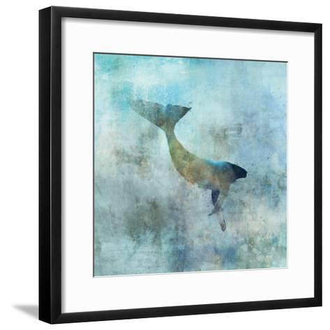 Ocean Whale 3-Ken Roko-Framed Art Print