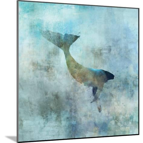 Ocean Whale 3-Ken Roko-Mounted Premium Giclee Print