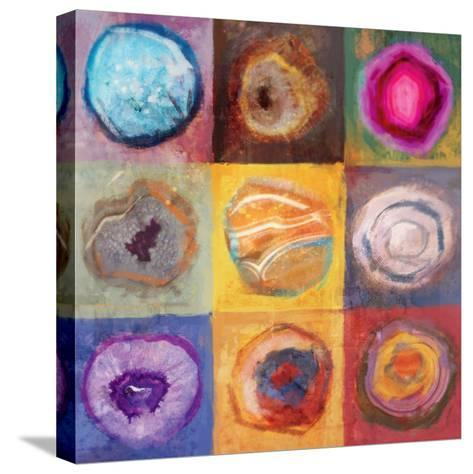 Side by Side 1-Ken Roko-Stretched Canvas Print