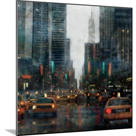 New York after Hours-Ken Roko-Mounted Premium Giclee Print