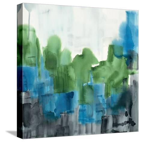 Spring Forest 2-Square-Tina Epps-Stretched Canvas Print
