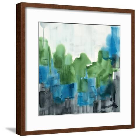 Spring Forest 2-Square-Tina Epps-Framed Art Print