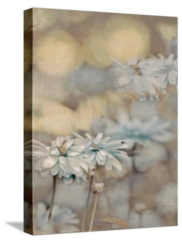 Golden Summer Daisies-Matina Theodosiou-Stretched Canvas Print