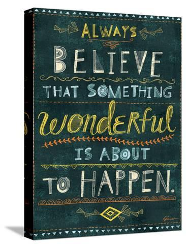Awesome Words 2-Richard Faust-Stretched Canvas Print