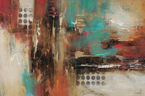 World Knowledge-Gabriella Villarreal-Stretched Canvas Print