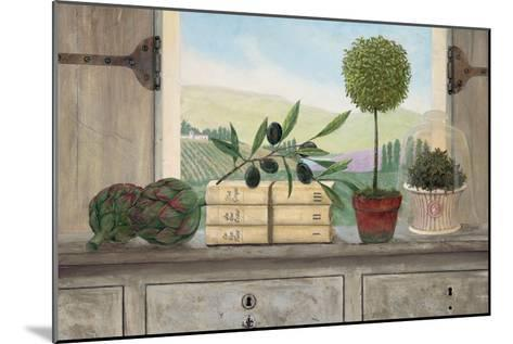 Winery Villa View-Arnie Fisk-Mounted Premium Giclee Print