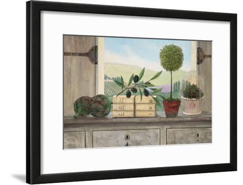 Winery Villa View-Arnie Fisk-Framed Art Print