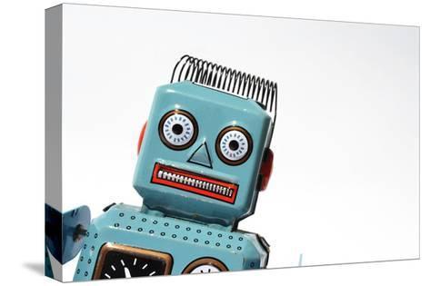 Robot-josefkubes-Stretched Canvas Print