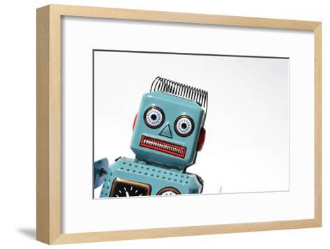 Robot-josefkubes-Framed Art Print