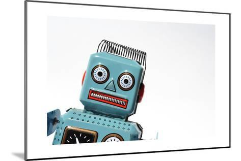 Robot-josefkubes-Mounted Art Print