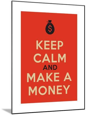 Keep Calm Poster-MishaAbesadze-Mounted Art Print