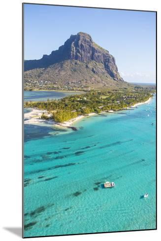 Le Morne Brabant Peninsula, Black River (Riviere Noire), West Coast, Mauritius-Jon Arnold-Mounted Photographic Print