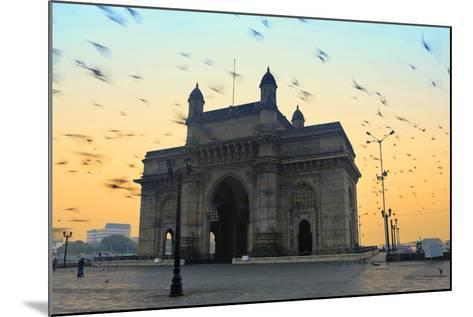 India, Maharashtra, Mumbai, Gateway of India, the Gateway of India at Dawn-Alex Robinson-Mounted Photographic Print