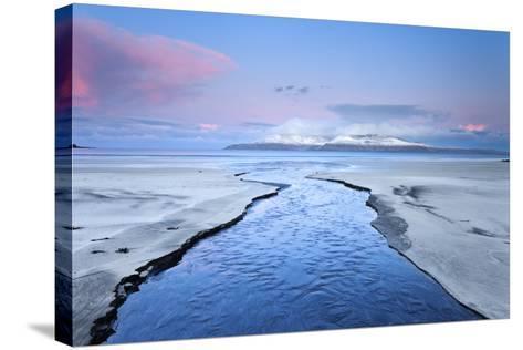 United Kingdom, Uk, Scotland, Highlands, Blue Dawn at Eigg Island-Fortunato Gatto-Stretched Canvas Print