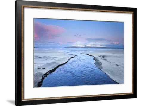 United Kingdom, Uk, Scotland, Highlands, Blue Dawn at Eigg Island-Fortunato Gatto-Framed Art Print