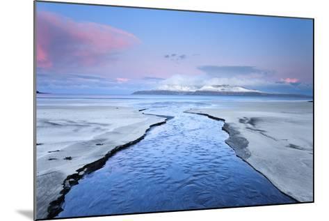 United Kingdom, Uk, Scotland, Highlands, Blue Dawn at Eigg Island-Fortunato Gatto-Mounted Photographic Print