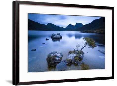 Cradle Mountain National Park, Tasmania, Australia. Dove Lake at Sunrise-Matteo Colombo-Framed Art Print