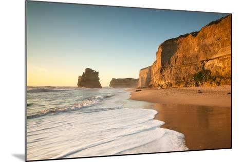 Great Ocean Road, Port Campbell National Park, Victoria, Australia. Gibson Steps Beach at Sunset-Matteo Colombo-Mounted Photographic Print