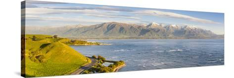 Elevated View over Dramatic Coastal Landscape, Kaikoura, South Island, New Zealand-Doug Pearson-Stretched Canvas Print