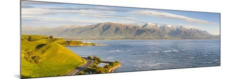 Elevated View over Dramatic Coastal Landscape, Kaikoura, South Island, New Zealand-Doug Pearson-Mounted Photographic Print