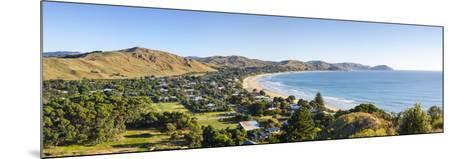 Elevated View over Wainui Beach, Gisborne, East Cape, North Island, New Zealand-Doug Pearson-Mounted Photographic Print