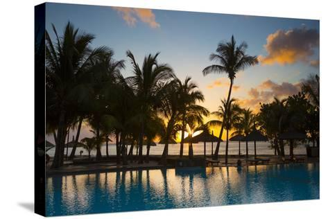 Beachcomber Dinarobin Hotel, Le Morne Brabant Peninsula, Black River, West Coast, Mauritius-Jon Arnold-Stretched Canvas Print