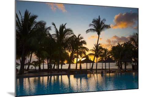 Beachcomber Dinarobin Hotel, Le Morne Brabant Peninsula, Black River, West Coast, Mauritius-Jon Arnold-Mounted Photographic Print