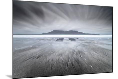 United Kingdom, Uk, Scotland, Highlands, Eigg Island, a Storm Approaching on Laig Bay-Fortunato Gatto-Mounted Photographic Print