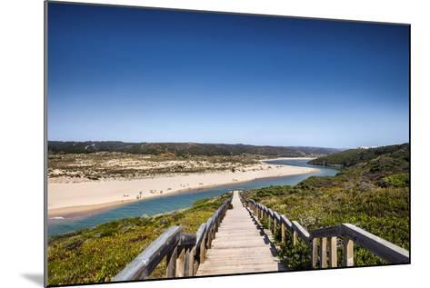 Footpath to the Beach, Praia Da Amoreira, Aljezur, Costa Vicentina, Algarve, Portugal-Sabine Lubenow-Mounted Photographic Print
