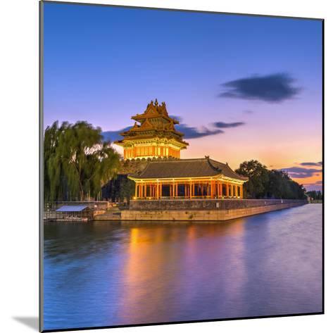 China, Beijing, Forbidden City, Palace Moat-Alan Copson-Mounted Photographic Print