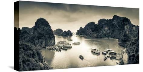 Vietnam, Halong Bay-Michele Falzone-Stretched Canvas Print