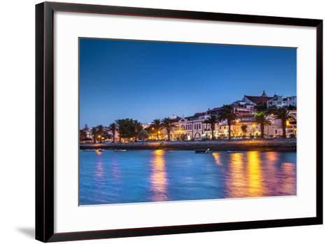 Sunset View of Lagos, Algarve, Portugal-Sabine Lubenow-Framed Art Print
