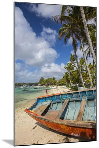 Beach at Trou D'Eau Douce, Flacq, East Coast, Mauritius-Jon Arnold-Mounted Photographic Print