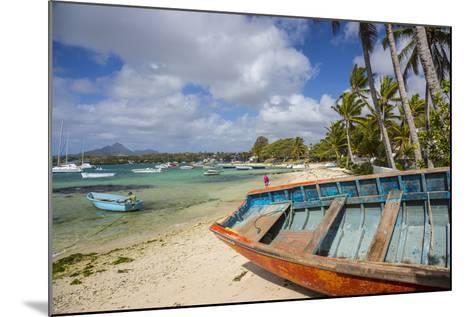 Beach at Trou D'Eau Douce, Flacq, East Coast, Mauritius-Jon Arnold-Mounted Photographic Print