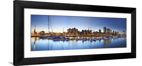 Argentina, Buenos Aires, Puerto Madero-Michele Falzone-Framed Art Print