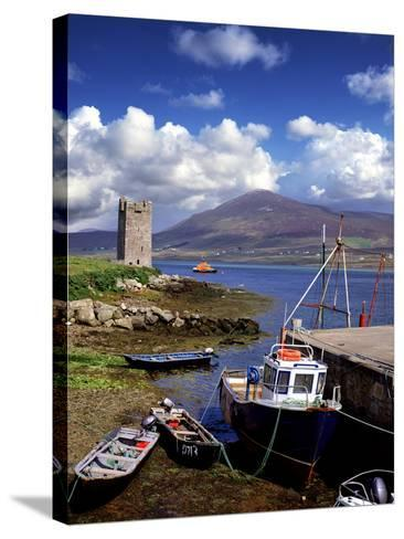 Granuaile's Tower, Kildavnet Castle, Achill Island, County Mayo, Ireland-Chris Hill-Stretched Canvas Print