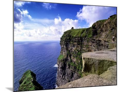 O'Brien's Tower on the Cliffs of Moher, County Clare, Ireland-Chris Hill-Mounted Photographic Print