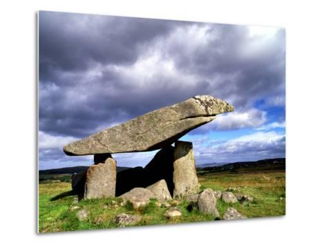 Kilclooney More Portal Tomb, in County Donegal, Ireland-Chris Hill-Metal Print