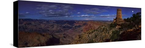 A Panoramic View of the Grand Canyon, the Longest Canyon on Earth-Babak Tafreshi-Stretched Canvas Print