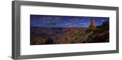 A Panoramic View of the Grand Canyon, the Longest Canyon on Earth-Babak Tafreshi-Framed Art Print