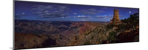 A Panoramic View of the Grand Canyon, the Longest Canyon on Earth-Babak Tafreshi-Mounted Photographic Print